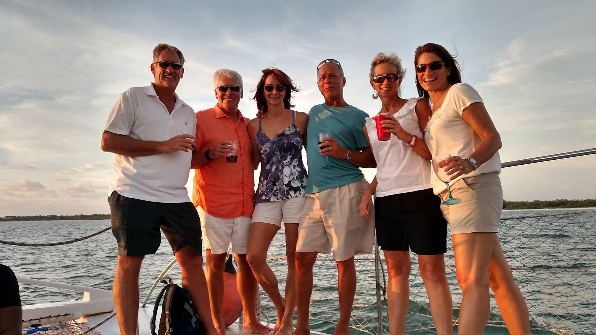Sweet Liberty Sunset Catamaran with Wine Tasters of Naples
