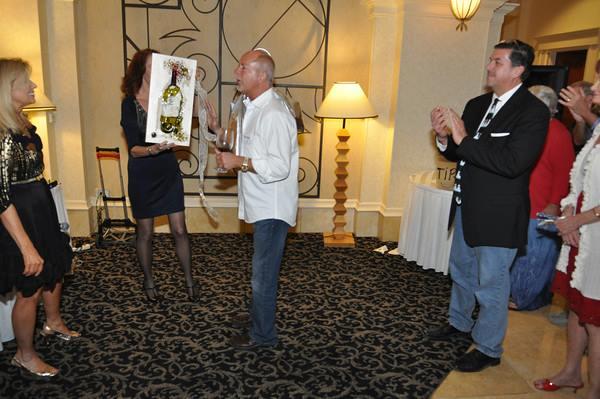 Honoring Founder Dan Leaman, Wine Tasters of Naples