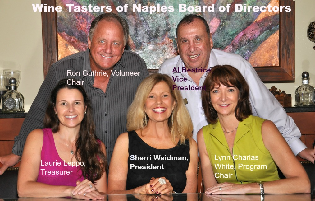 Wine Tasters of Naples Board of Direcotrs