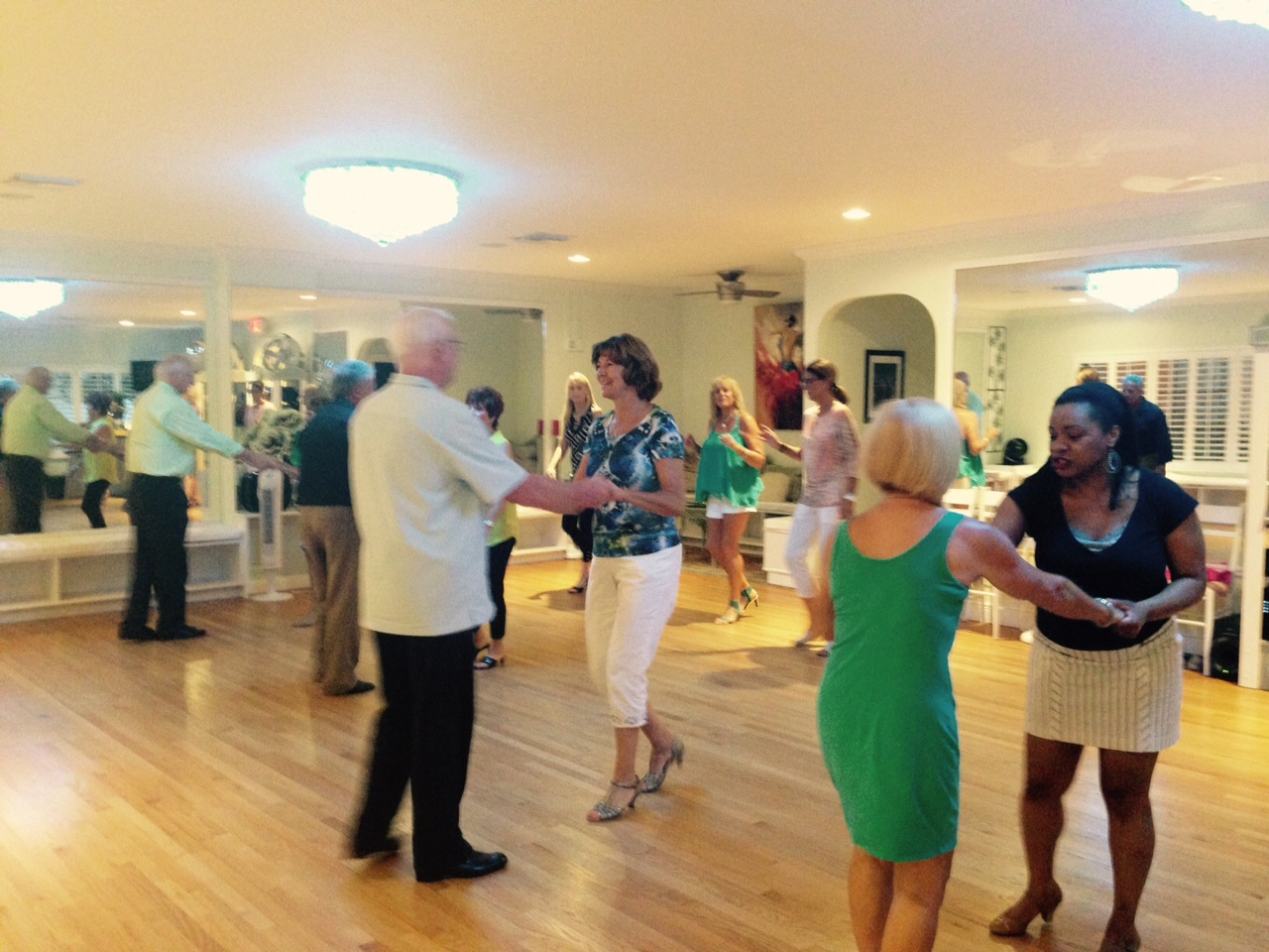 Dance Class with Wine Tasters of Naples