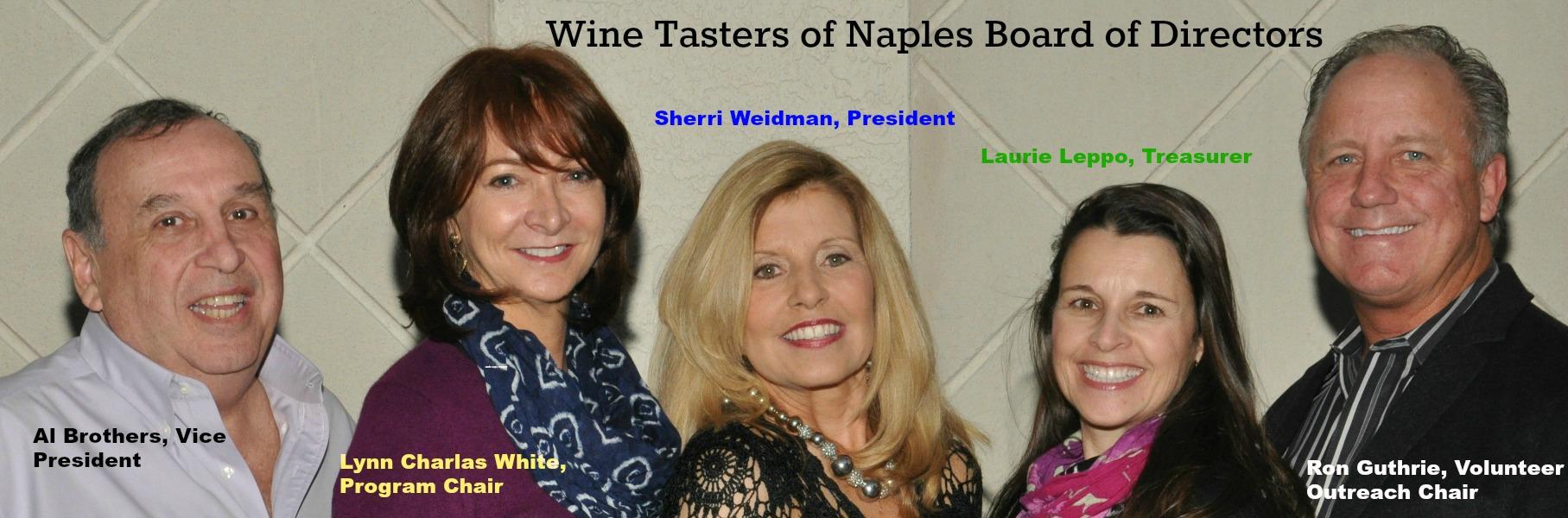 Wine Tasters of Naples, Board of Directors