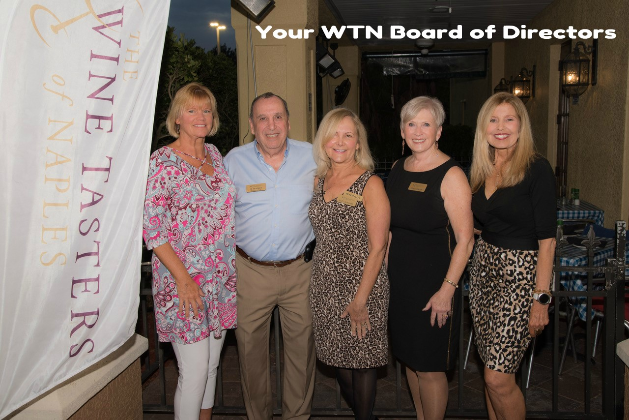 Wine Tasters of Naples Board of Directors Sherri Weidman President
