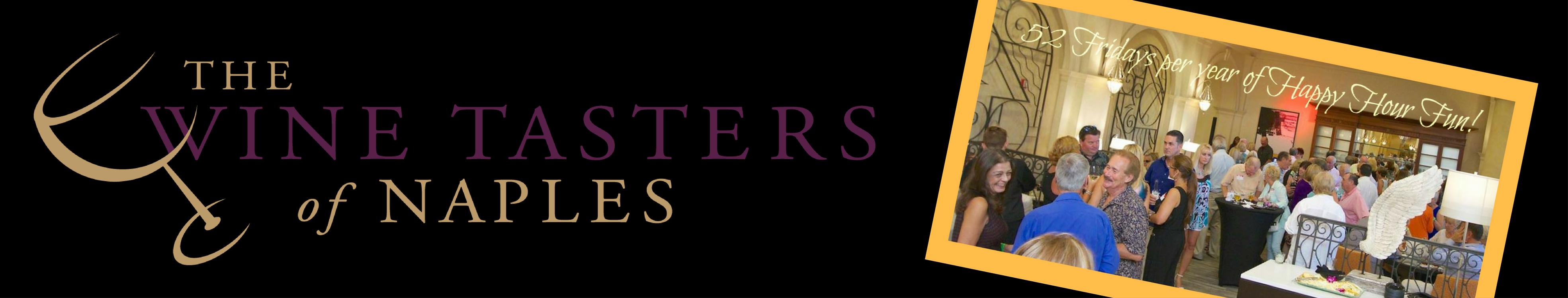 Wine Tasters of Naples website cover