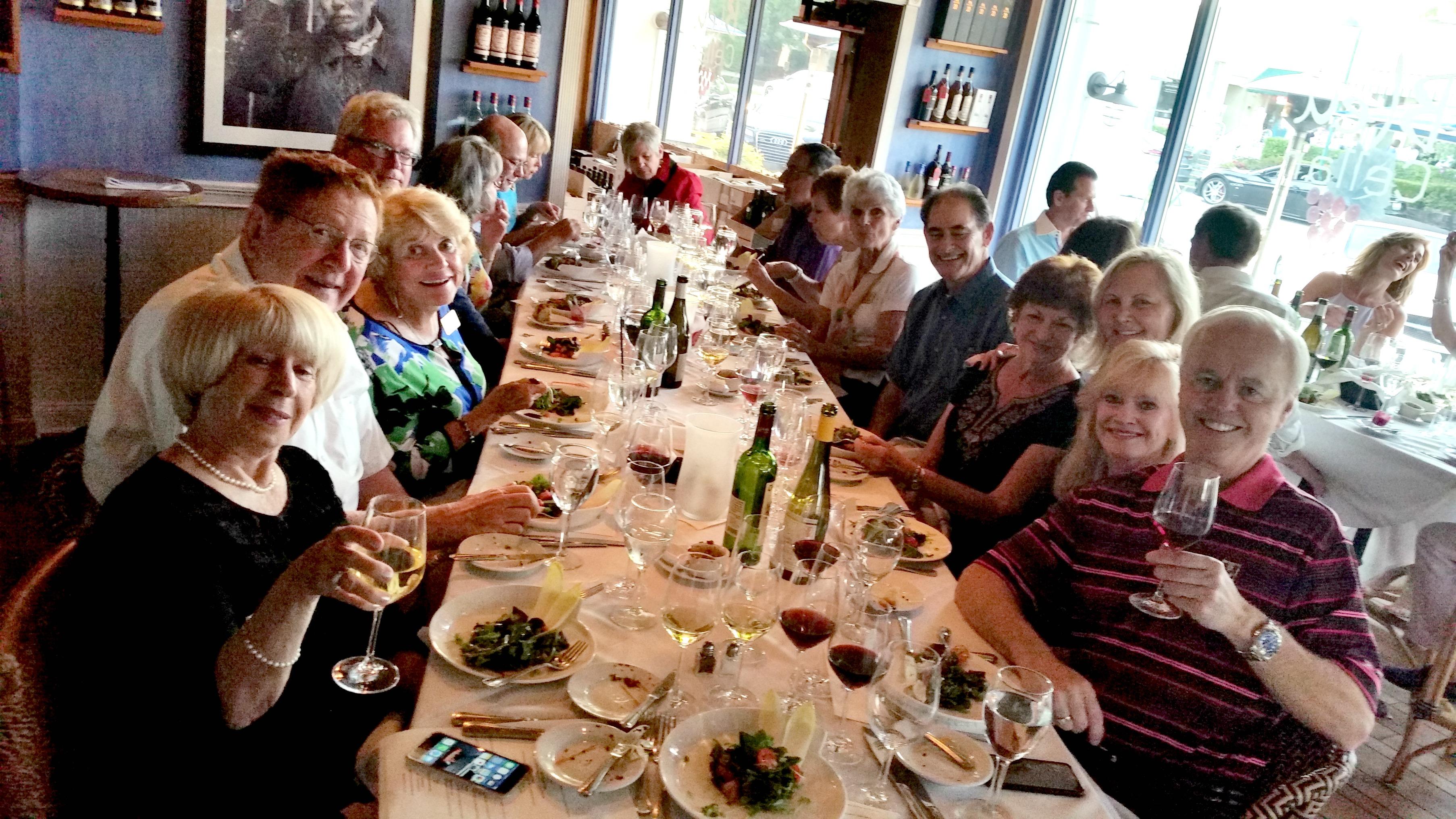 Wine Tasters of Naples Wine Dinner at Bleu Provence